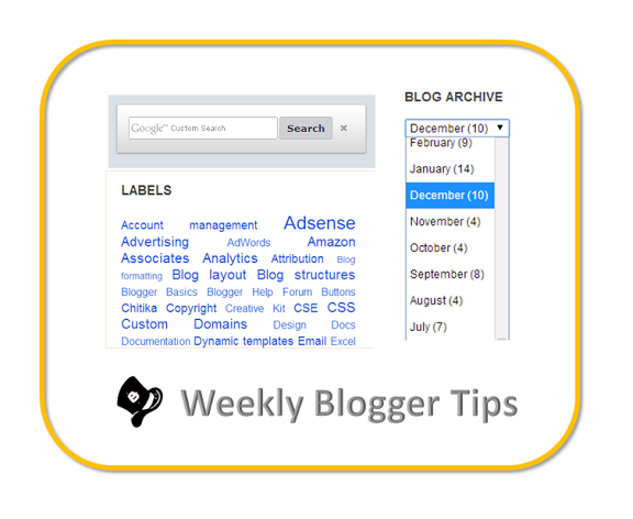 Give readers plenty of ways to find the next interesting post in your blog!    One is NOT enough.