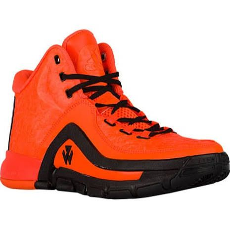 online retailer 1fdff 0a99e John Wall adidas Wall 2 Basketball Shoe Men s Solar Orange Black White