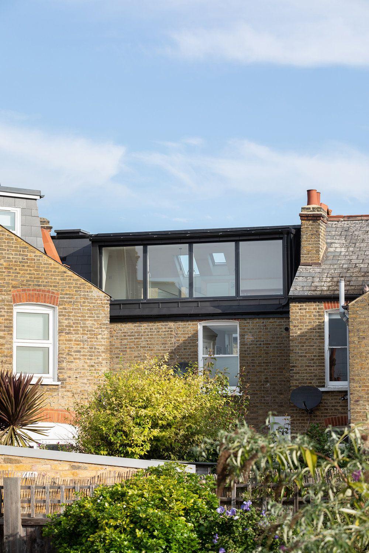 Zinc Loft Conversion Rider Stirland Architects Loft Conversion Victorian Terrace House Extension Design Dormer Loft Conversion