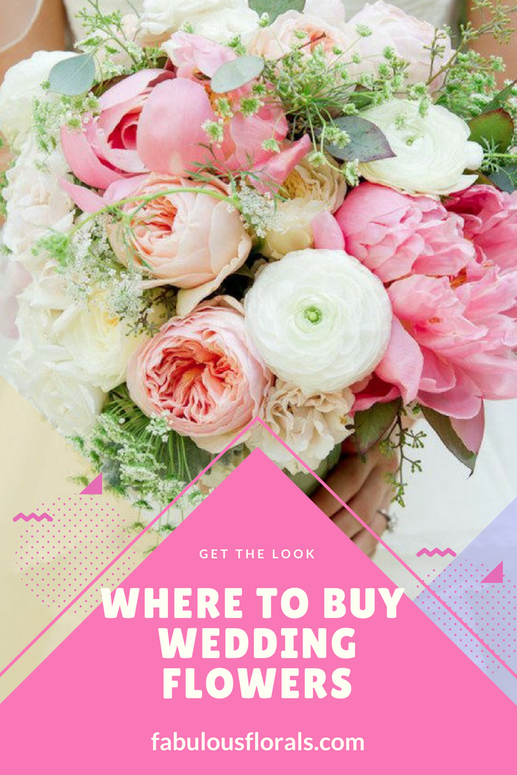 2018 pink wedding trends. diy wedding flowers. how to buy