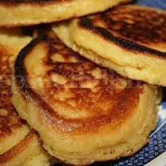 Deep South Dish: Southern Cornmeal Hoe Cakes. Grandma made these & I sure miss them - can't make them taste like hers.