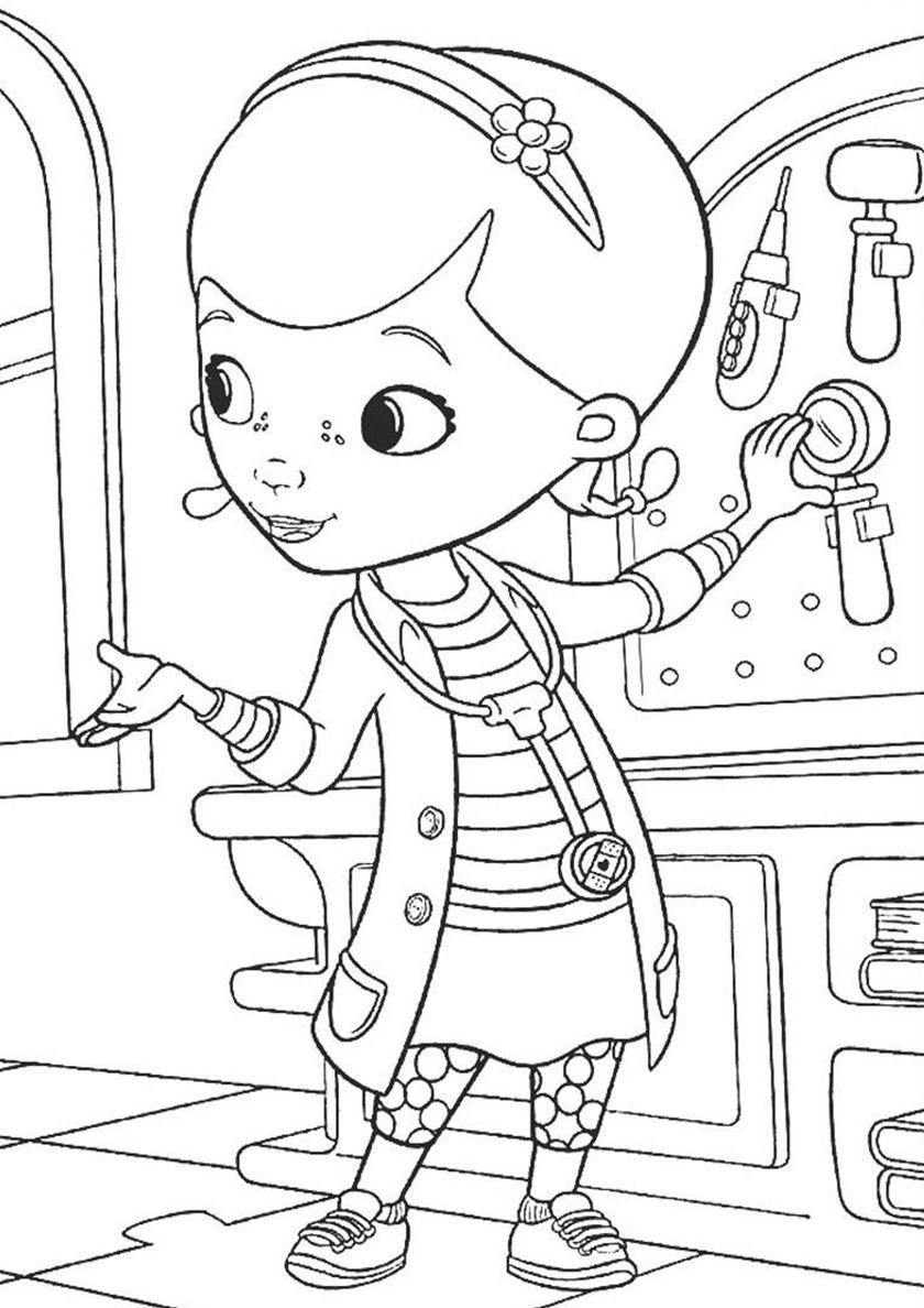 Anamnesis High Quality Free Coloring From The Category Doc Mcstuffins More Printable Pictures On Our W Cartoon Coloring Pages Coloring Pages Doc Mcstuffins