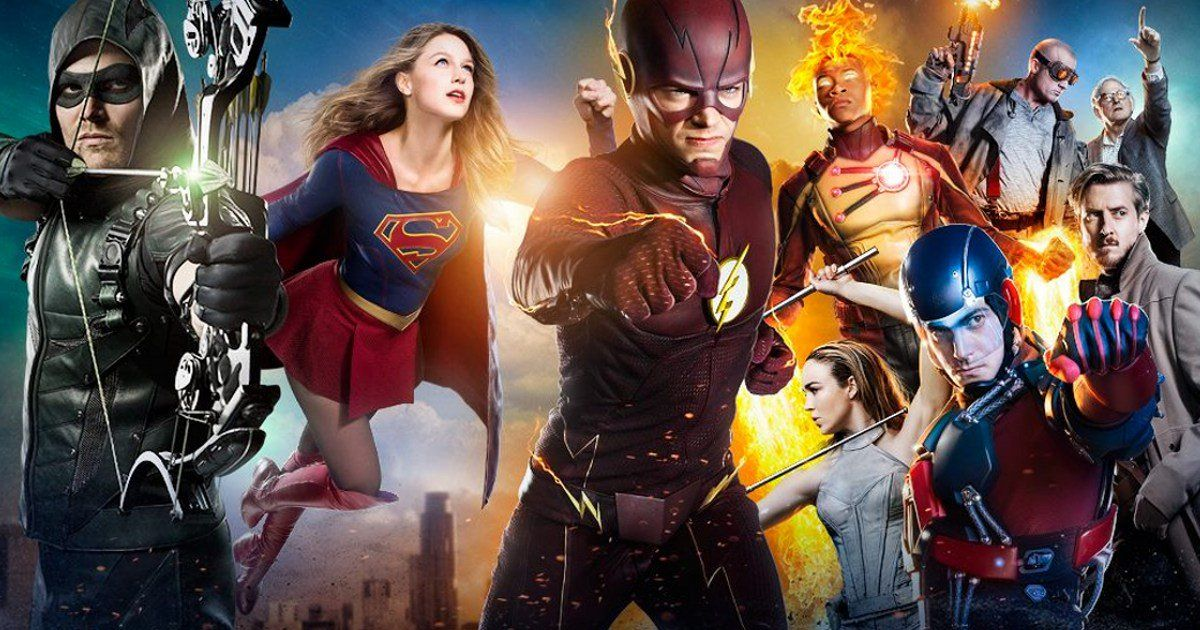 New Supergirl Arrow Flash Legends Of Tomorrow Crossover
