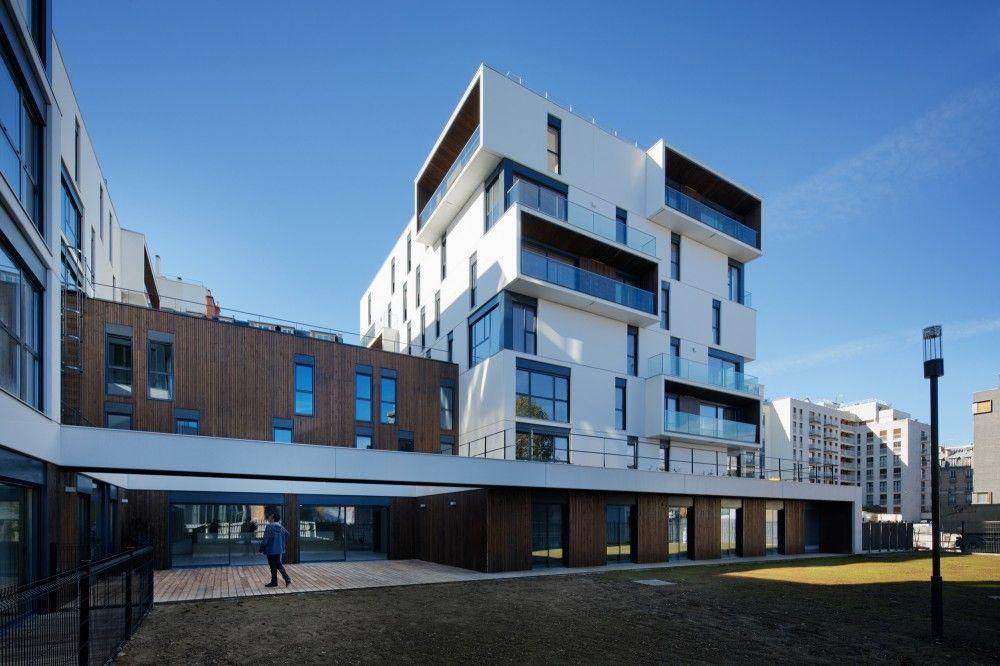 Gallery Of Zac Boucicaut In Paris Ameller Dubois Associes Architectes 9 Apartments Exterior Architecture Residential Building