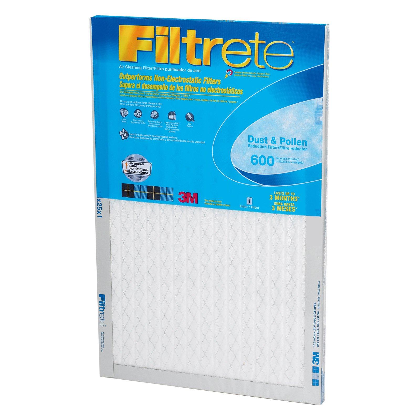 3M 9839DC-6 Filtreteâ ¢ Dust & Pollen Filters