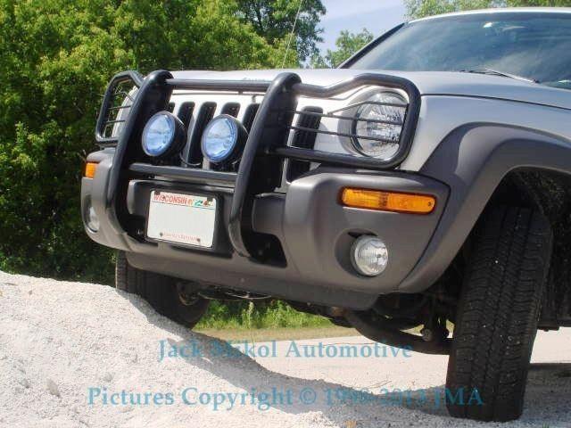 Black 05 06 Jeep Liberty Brush Grille Guard Bull Bar Jeep Jeep