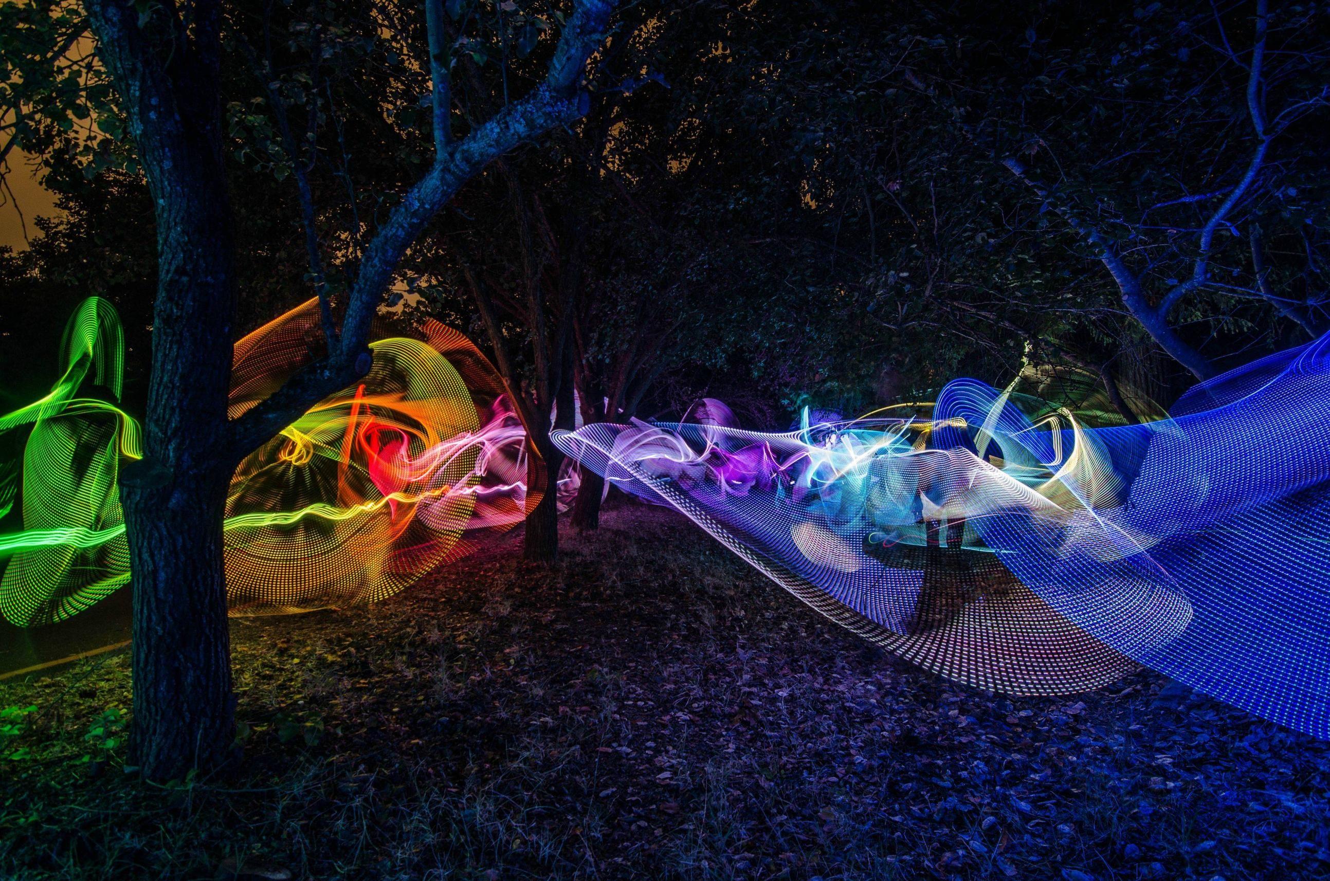 Technicolor Forest  30 Sec  ISO 200 (4928x3264) [OC] | PUMA