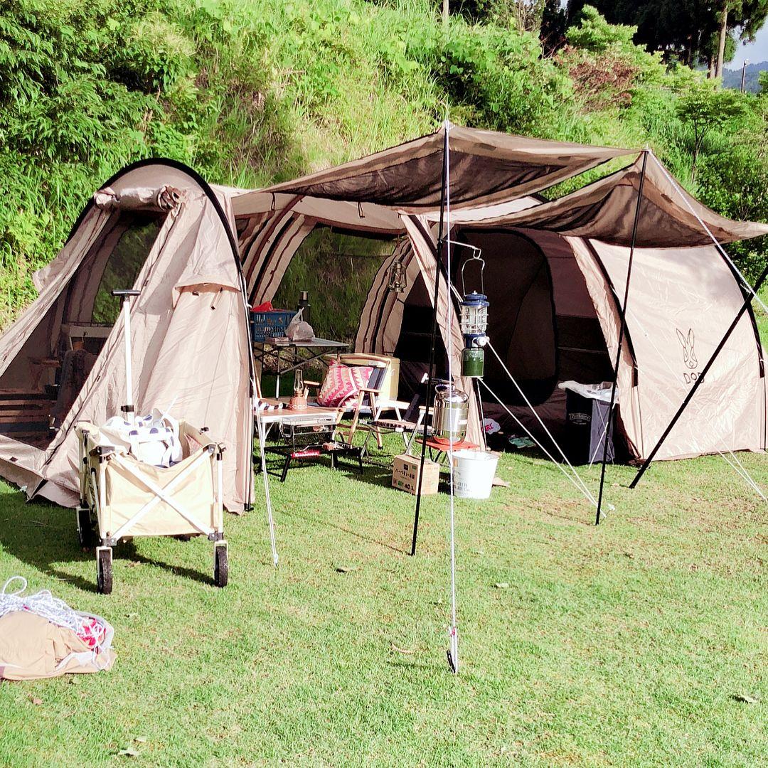 カマボコ テント ソロ tc