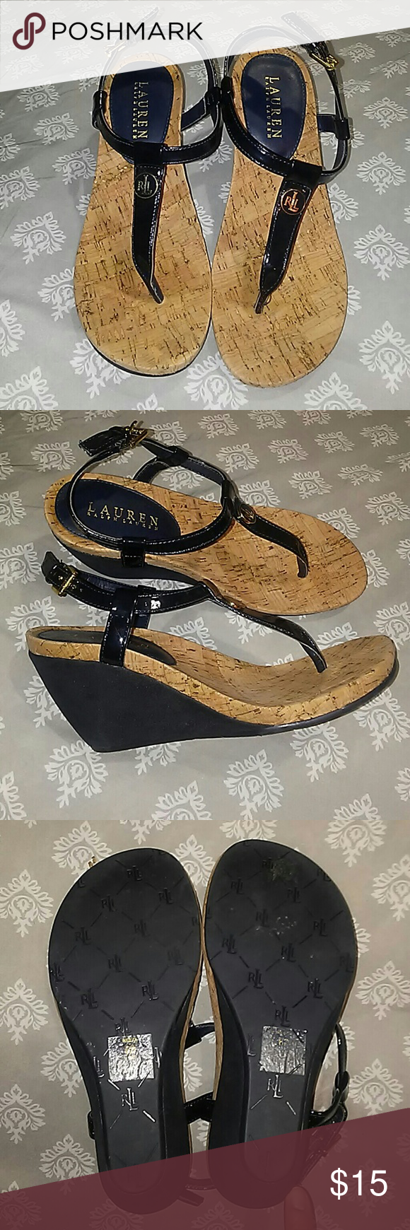 Ralph Lauren wedge sandals | Wedge