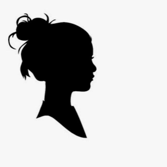 Girl silhouette | Good Stuff | Pinterest | Girl silhouette ...