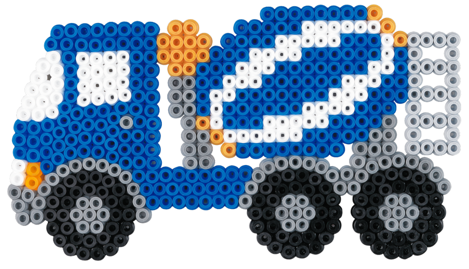 Contruction vehicle Hama beads - 3143 HAMA | hama bead | Pinterest ...