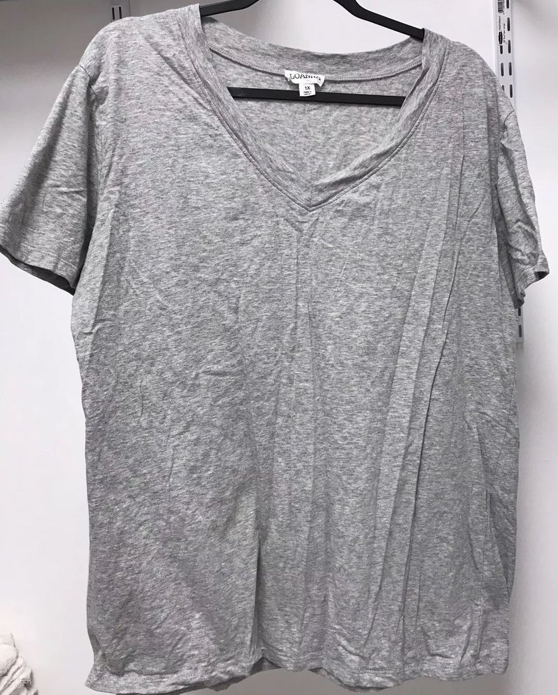 d09902f28ed Womens Loanna T-Shirts Set Of 3 Light Gray Dark Gray Black: Size 1X  #fashion #clothing #shoes #accessories #womensclothing #activewear (ebay  link)