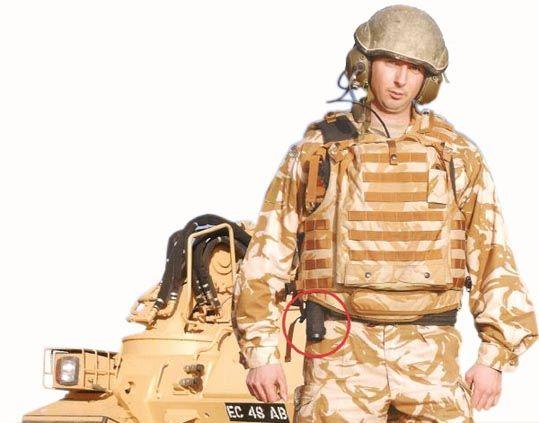 Ecba Enhanced Combat Body Armour Experimental Pecoc   DFE