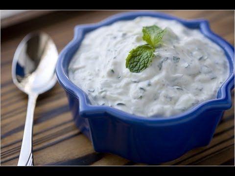 Salsa De Yogurt Salsa Arabe Youtube Aderezo De Yogurt