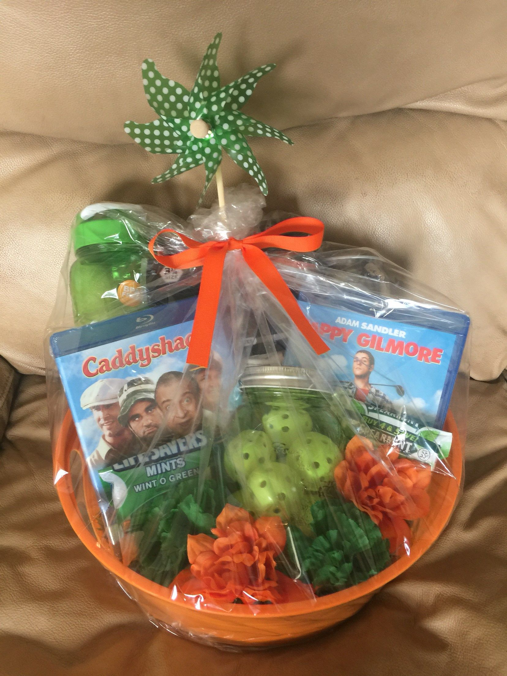 Golf gifts golf themed gift basket golf gift basket