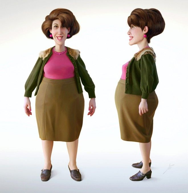 25 Beautiful and Realistic 3d Character Designs examples around ...