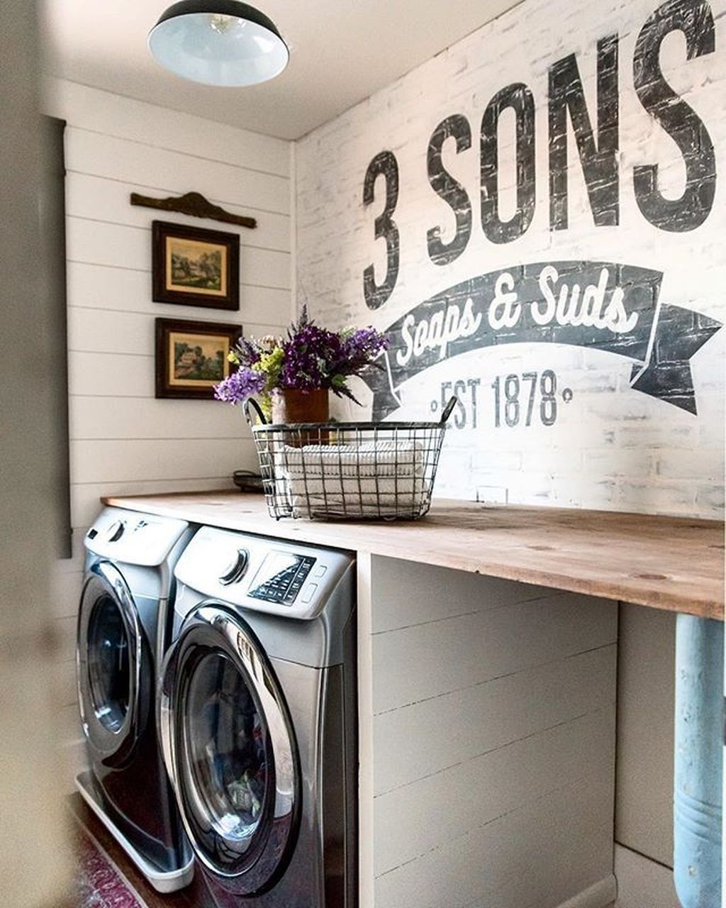 35 Catchy Tiny Laundry Room Makeover Ideas You Can Try Tiny