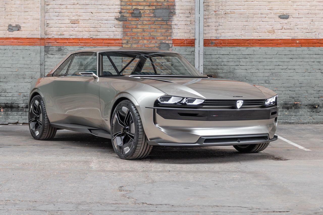 E Legend Concept La Nouvelle 504 Par Peugeot Exotic Dream Cars