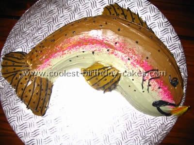 Coolest Fish Birthday Cakes Photo Gallery Fish birthday cakes