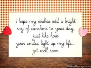 Get Well Soon Quotes for Him Get Well Soon Quotes