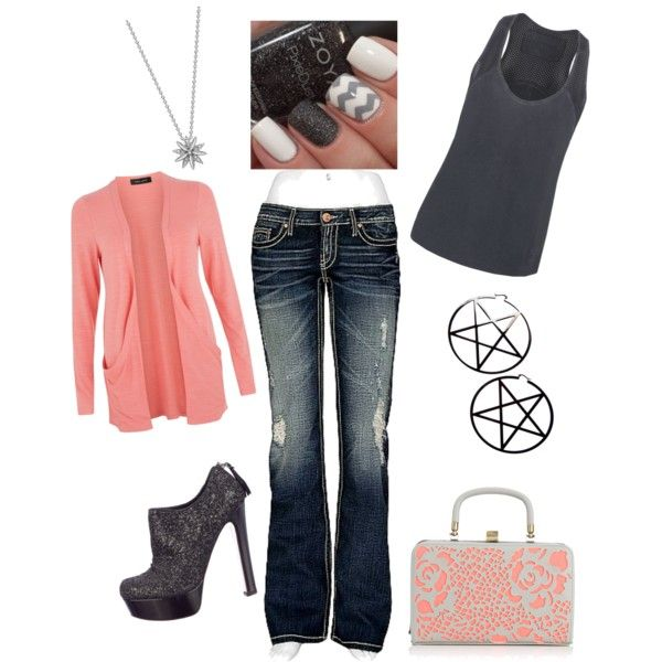 Untitled #75 by bj1228143 on Polyvore featuring polyvore fashion style True Religion BKE Miu Miu London Road Kill Star