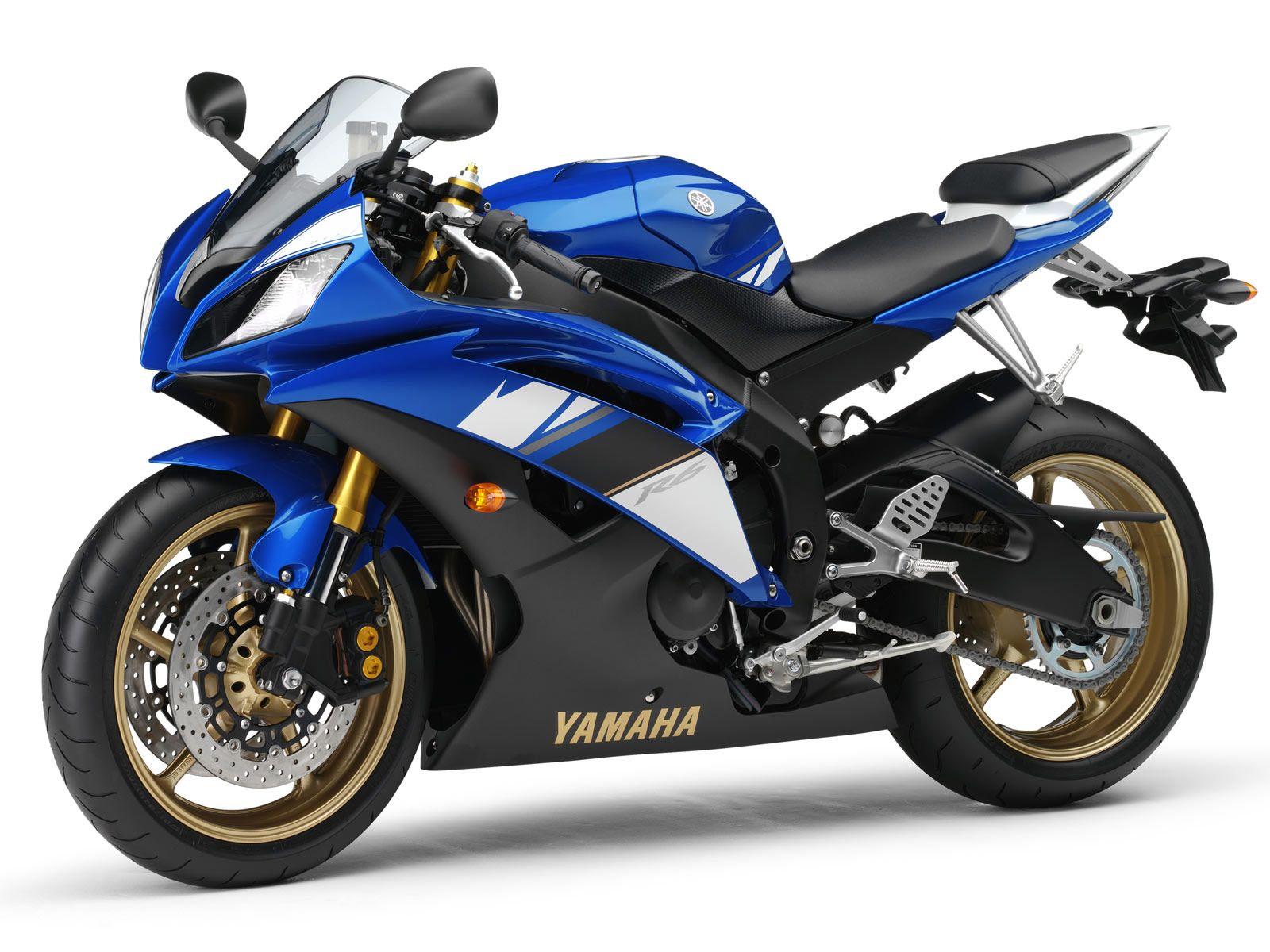 Yamaha yzf r6 2008 yamaha blue