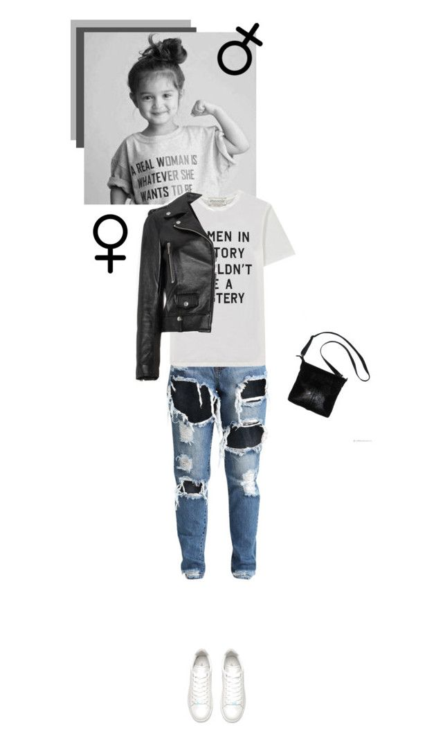 """GirlPride"" by vanssa-moore ❤ liked on Polyvore featuring Être Cécile, Yves Saint Laurent, womensHistoryMonth, pressforprogress and GirlPride"
