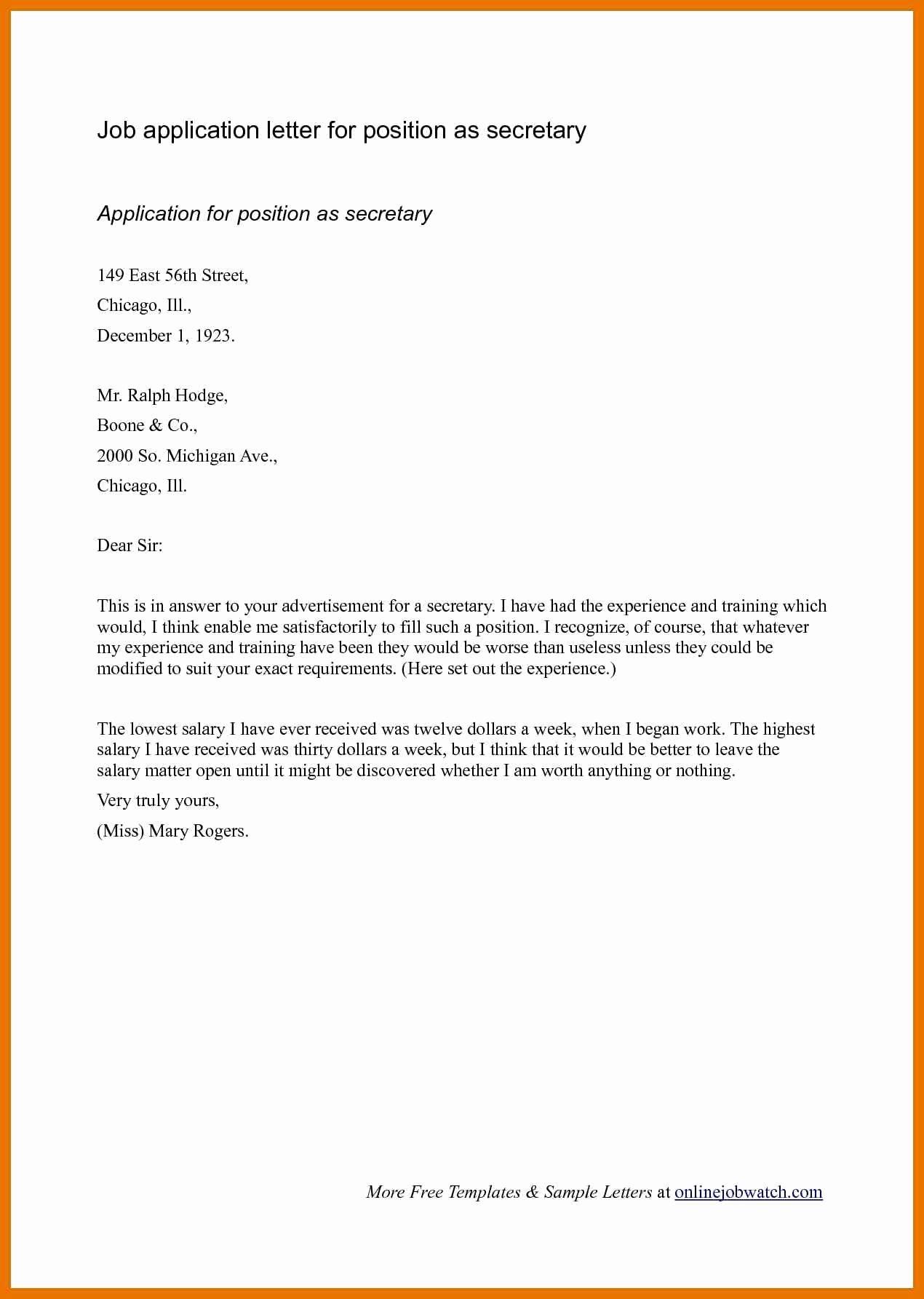Cover Letter Template Header CoverLetterTemplate
