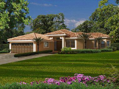 Florida One Story House Designs   Florida house plans – home ...