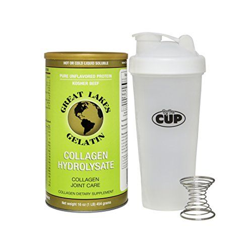 > Challenge the offers awaits you : Great Lakes Gelatin, Collagen Hydrolysate 16-Ounce Can and By The Cup Shaker Combo at baking desserts recipes.