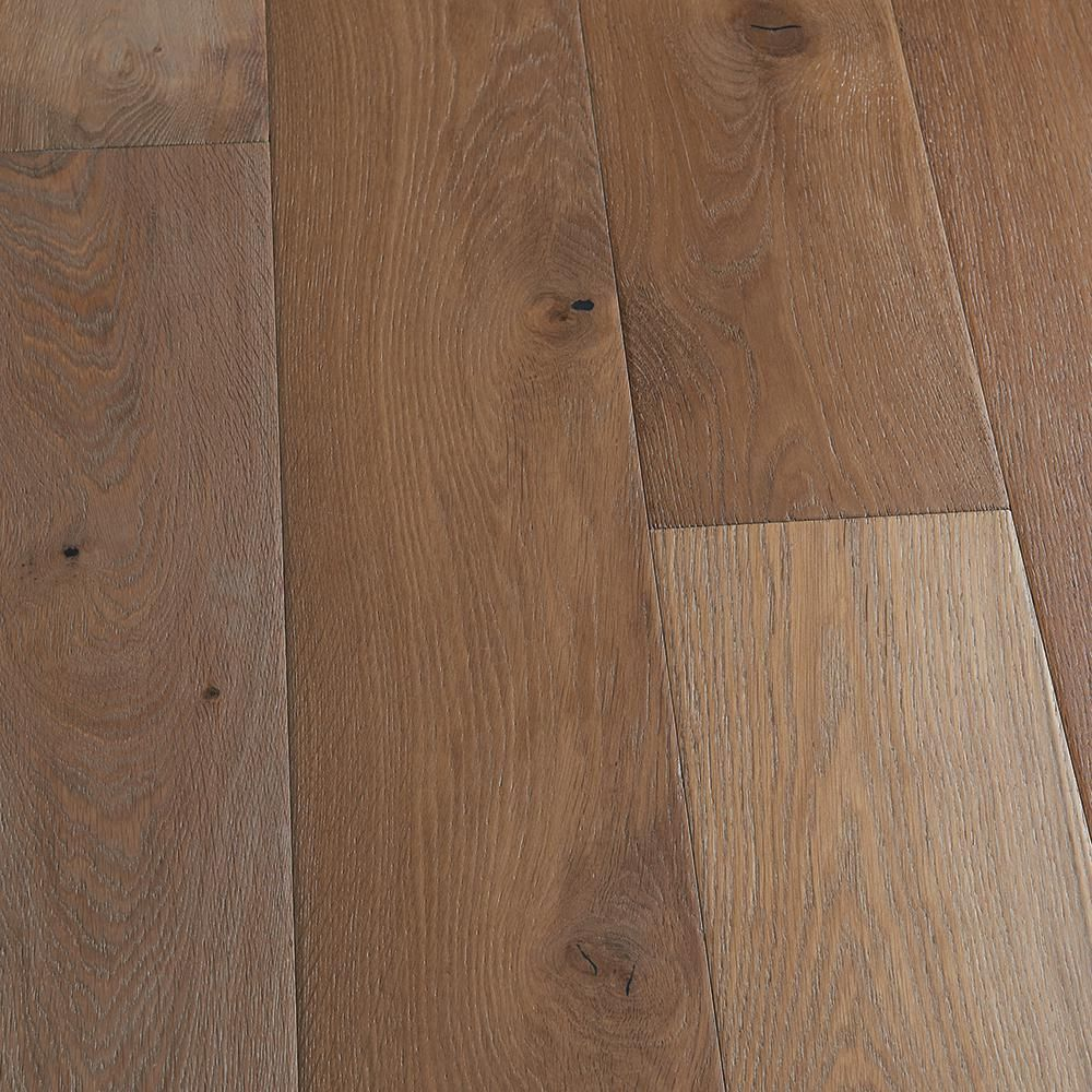 Malibu Wide Plank French Oak Maya Bay 1 2 In T X 7 5 In W X Varying Length Engineered Click Hardwood Flooring 23 44 Sq Ft Case Hdmccl082ef The Home Depo In 2020 Engineered