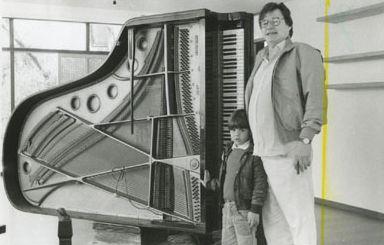 Antonio Carlos Jobim Joao Francisco Piano Med Billeder