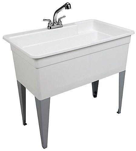 The 28cf Big Tub Utilatub Combo Is One Huge Laundry Tub 40 In Wide By 34 In Front To Back The Inside Dimension Is 36 5 In Utility Sink Laundry Tubs Big Tub