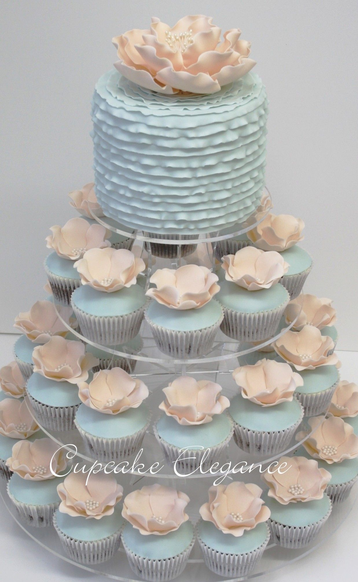 Cake and Cupcakes by Cupcake Elegance