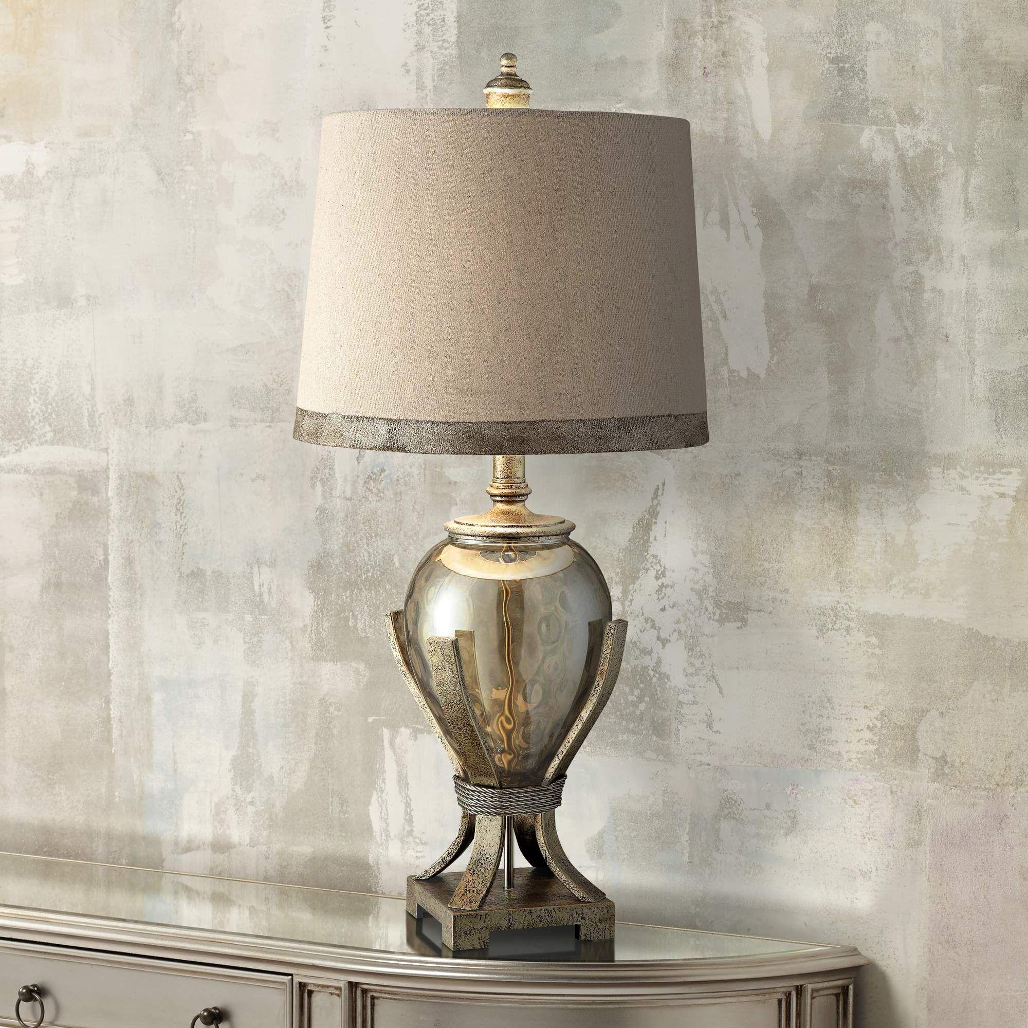 Crestview collection hawthorne glass amphora table lamp style crestview collection hawthorne glass amphora table lamp 7g159 lamps plus geotapseo Gallery
