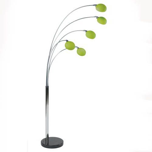 Danalight LOUNGE 5 Floor lamp Green Glass (LIMITED OFFER); £210 ...