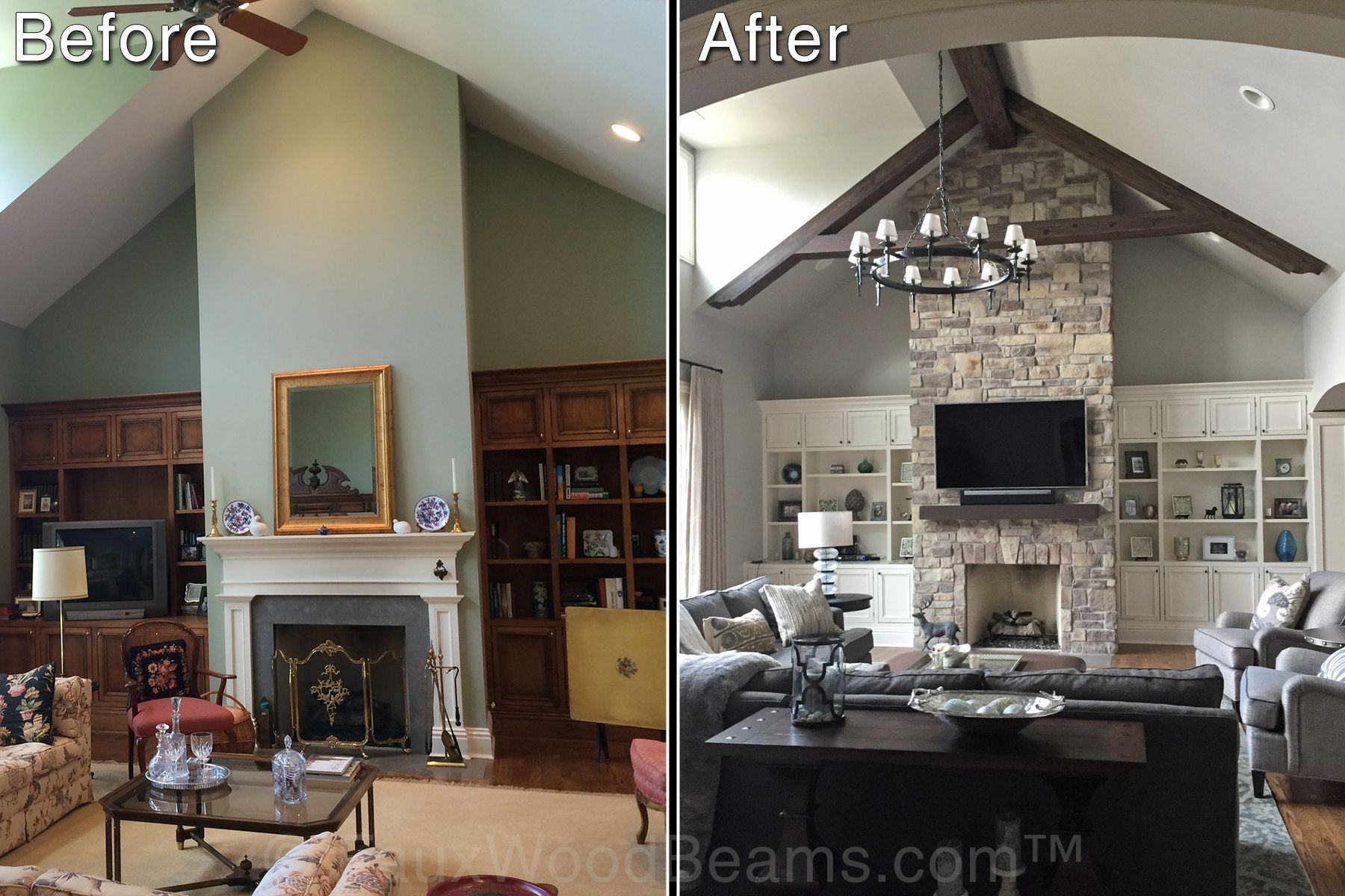 Living Room Design Pictures Ceiling Beams Add Cozy Style Beams