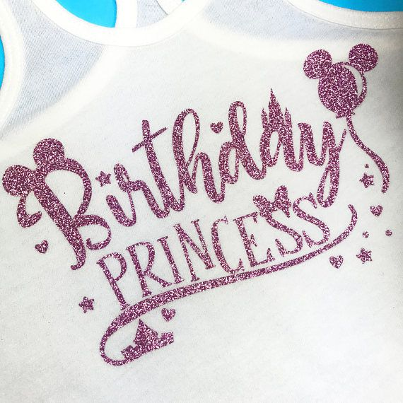 Disney Birthday Shirt Minnie