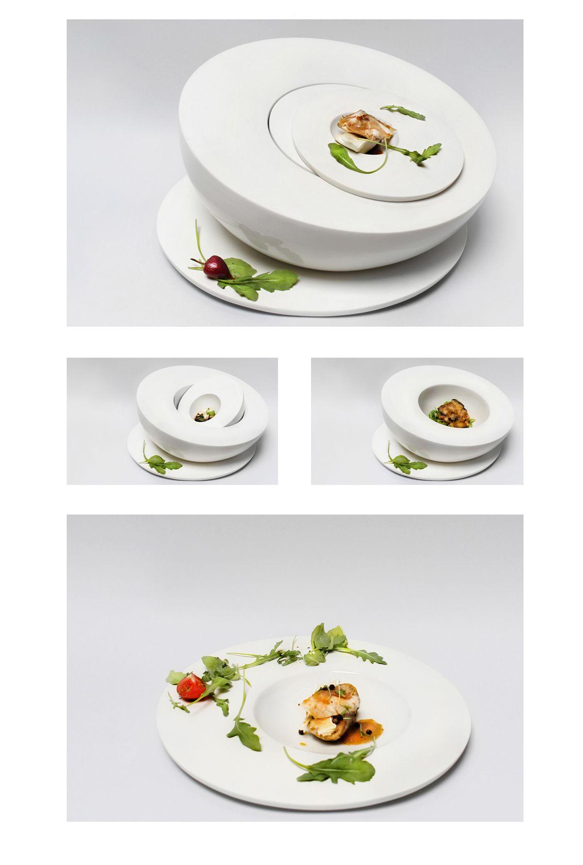 HIDE fine dining tableware on Behance