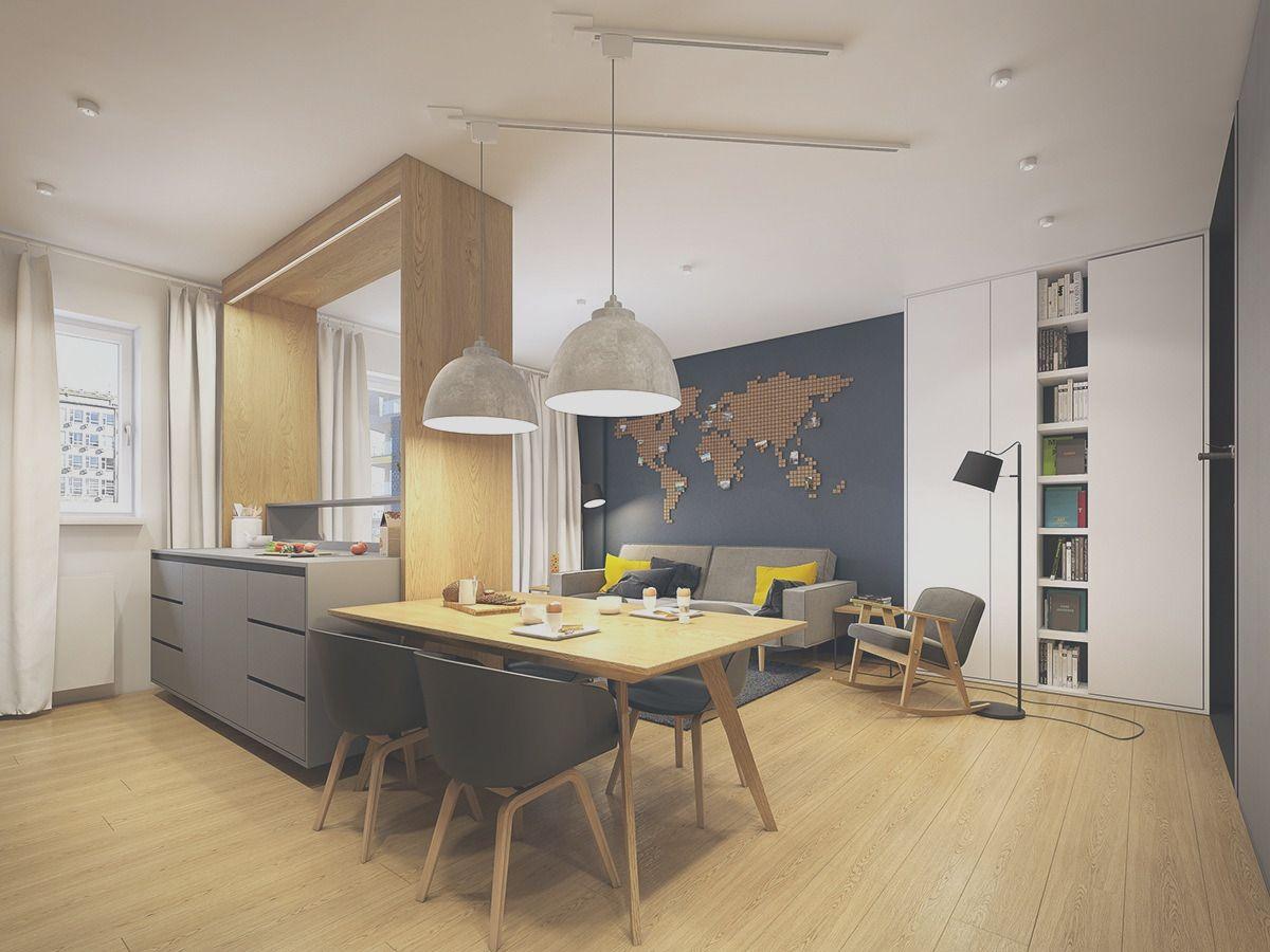 34 Fabulous Small Apartment Interior Design Ideas