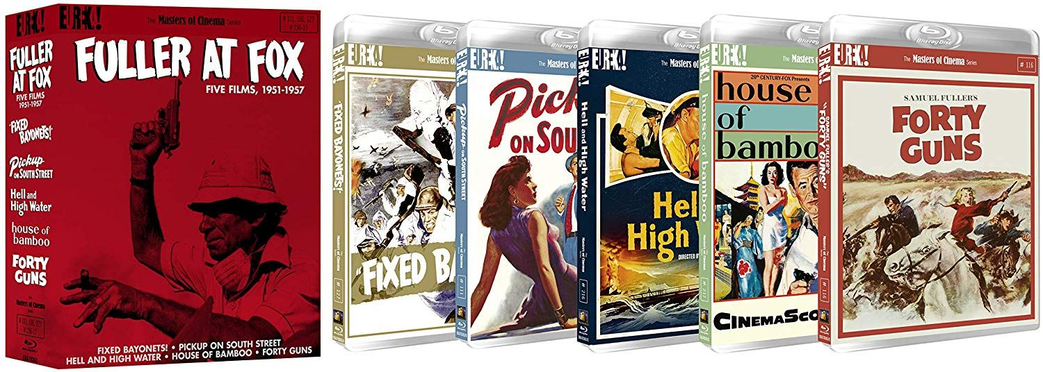 Win FULLER AT FOX, FIVE FILMS 1951-1957 (Masters of Cinema) Blu-ray #bluray