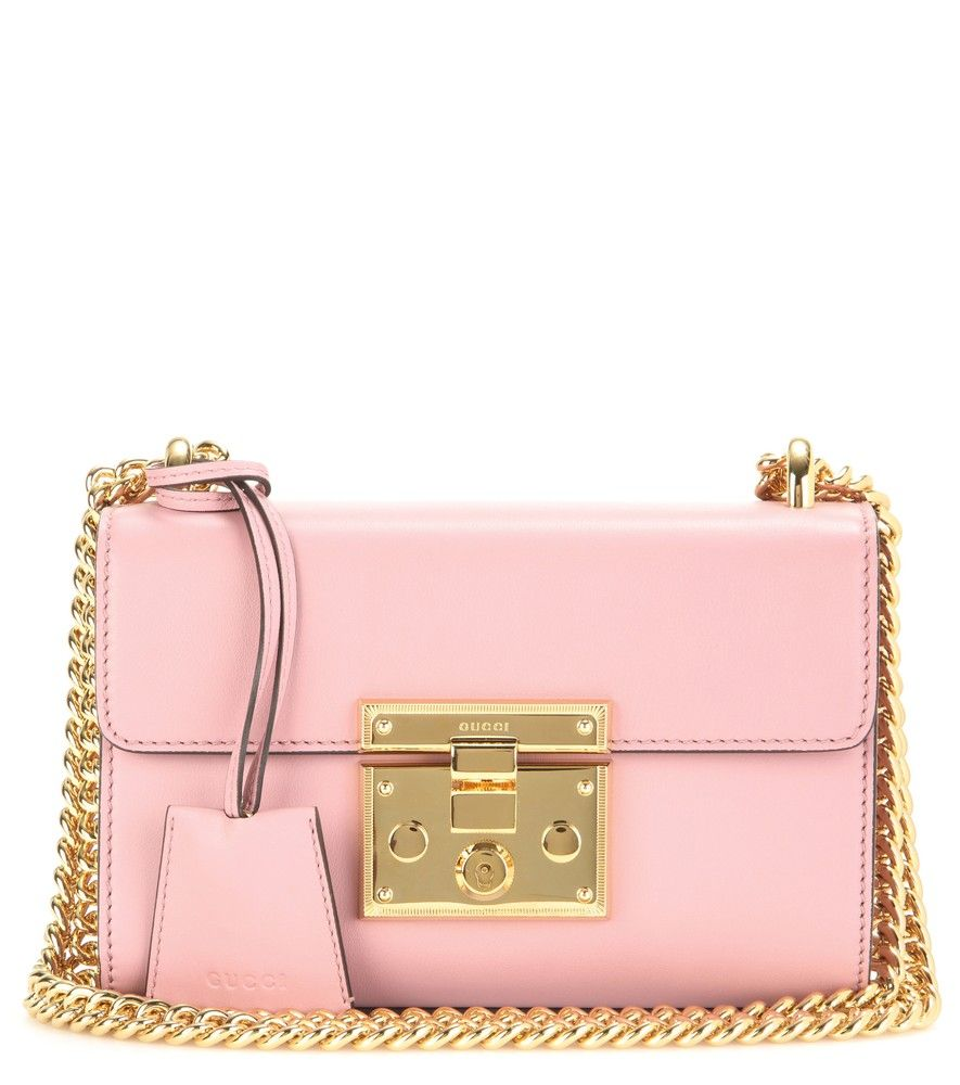 65c466bd80fb Gucci - Padlock Small leather shoulder bag - Crafted in Italy from  incredibly smooth calf leather