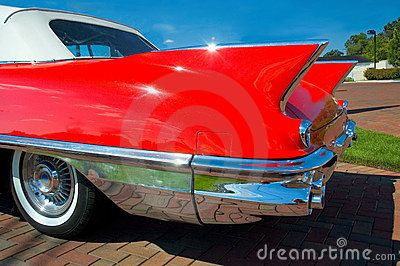 Classic Car Fins By Michael Shake Via Dreamstime Cars Trucks