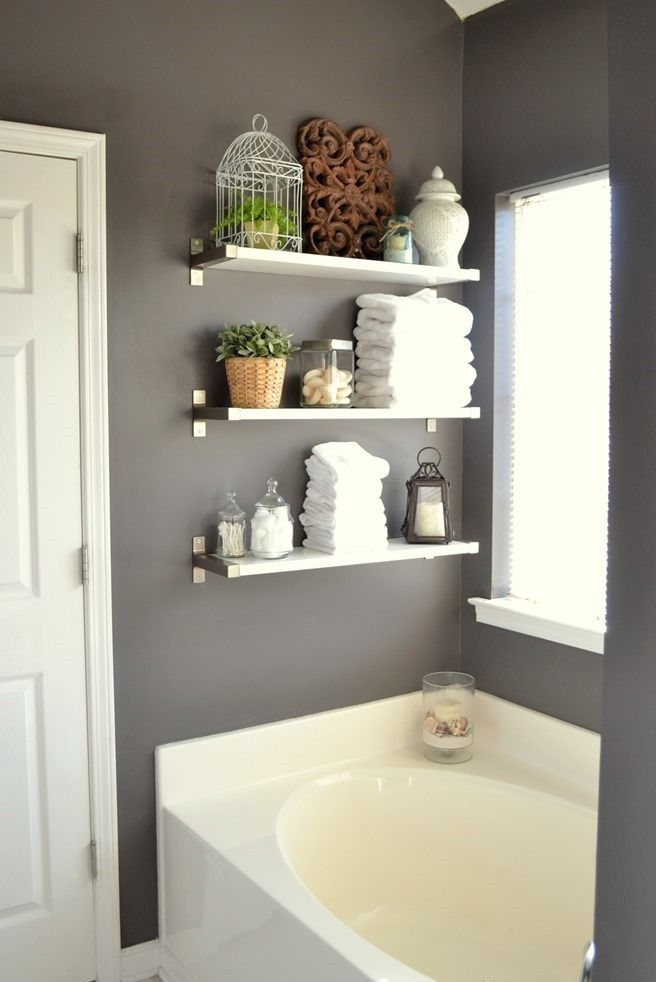 shelf10 bathroom shelf decor bathroom bathroom shelves on brilliant kitchen cabinet organization and tips ideas more space discover things quicker id=41179