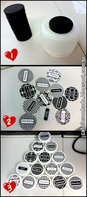 Desperte a Criatividade : DIY - Porta condimentos magnético