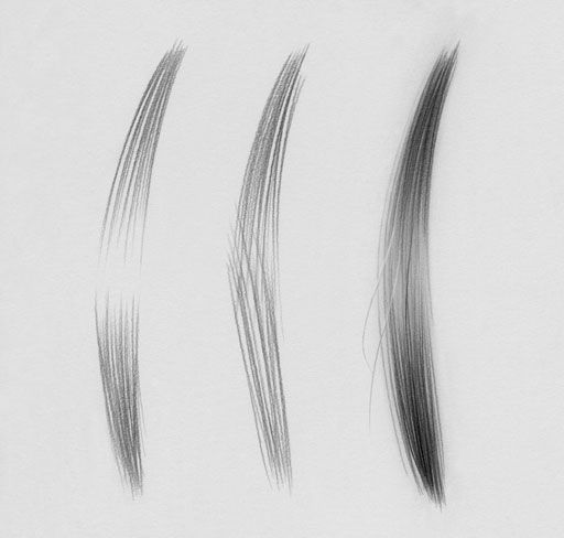 How To Draw Realistic Hair This Shows The Differences Between How Most People Draw Hair And How Some Artists Dra Realistic Drawings Drawings How To Draw Hair