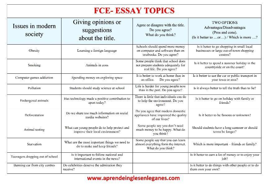 como hacer un essay