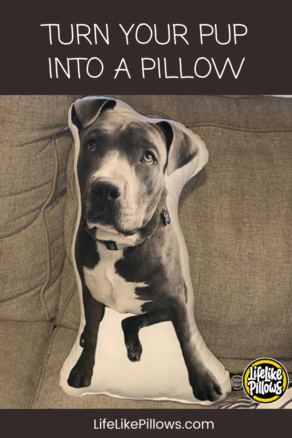 The Most Unforgettable Gift For Dog Owners and Lovers - Custom Dog Pillows by LifeLike Pillows