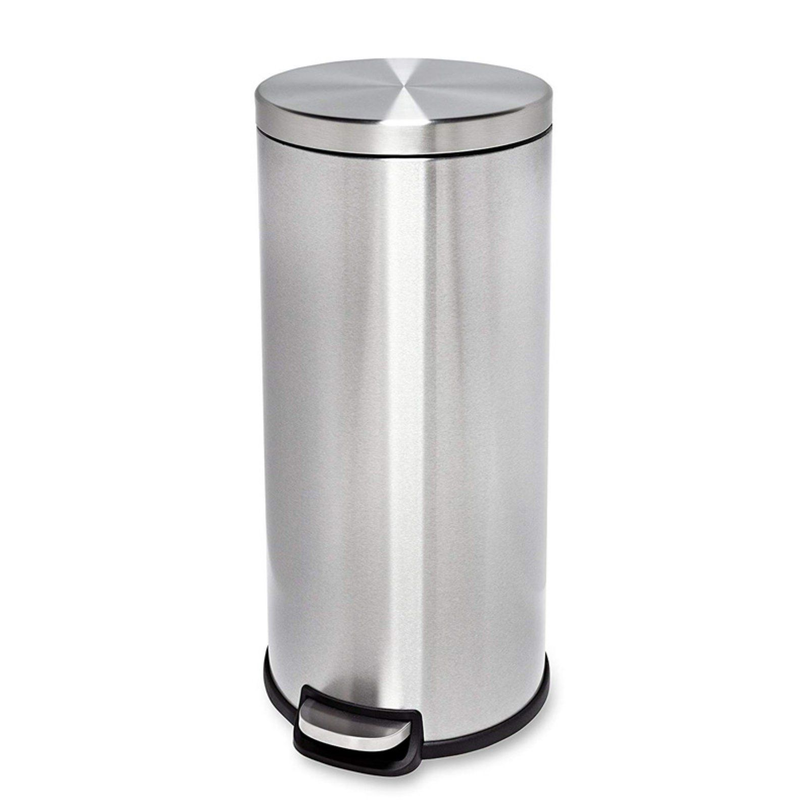 Honey Can Do 30l Stainless Steel Step Trash Can Trash Can Honey