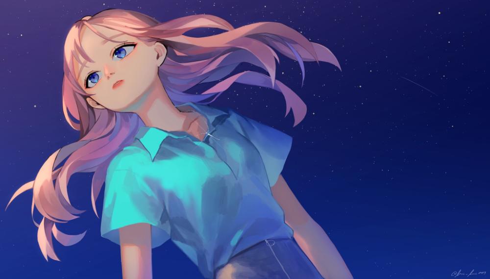 宇井田ルイ on twitter anime artwork character